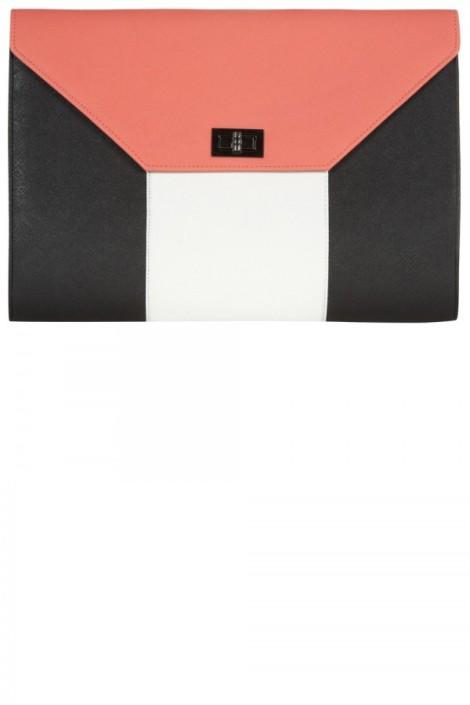 Primark Colour Block clutch,-£8